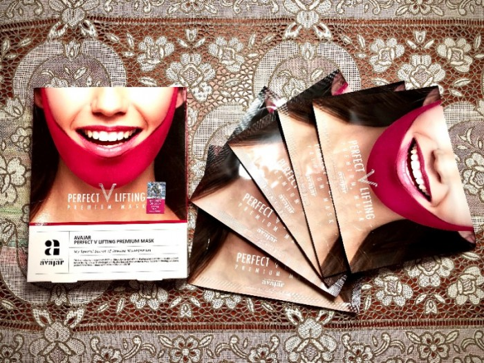 Mặt nạ tạo hình V-Line Avajar Perfect V Lifting Premium Mask1