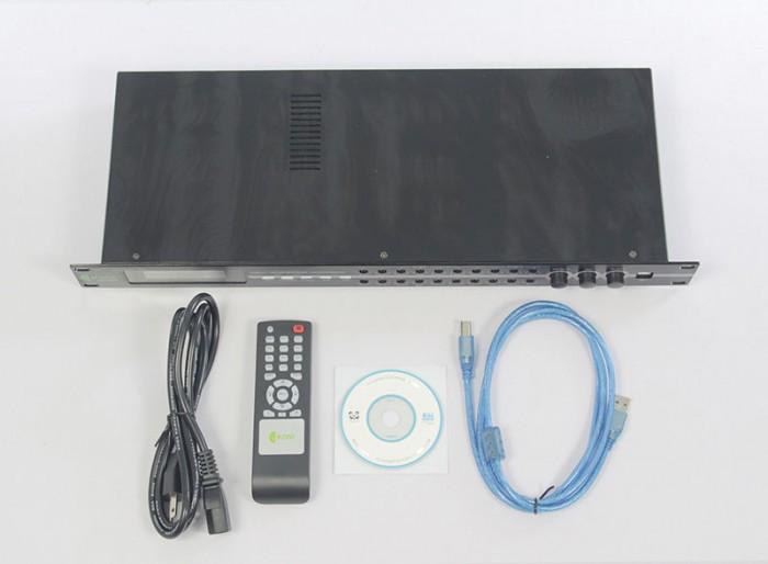 Vang KIWI KD-9000 Trọn bộ gồm có: Đầu Vang, dây nguồn, dây USB, disk cài, hướng dẫn sử dụng.2