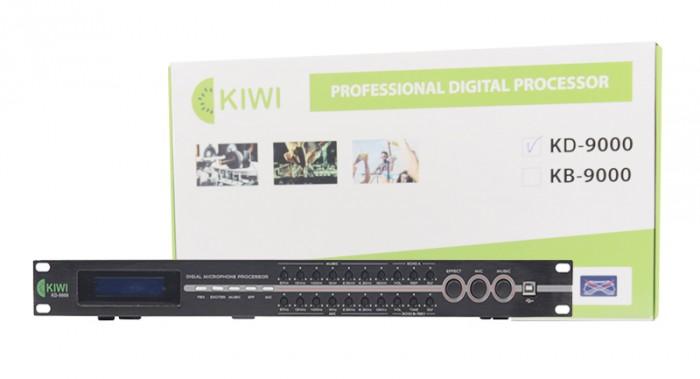 Vang KIWI KD-9000 Bảng điều khiển phía trước để theo dõi và điều chỉnh, màn hình LCD trực quan, thuận tiện.4