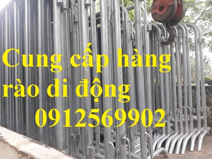 Khung hàng rào di động hàng có sẵn giá rẻ1