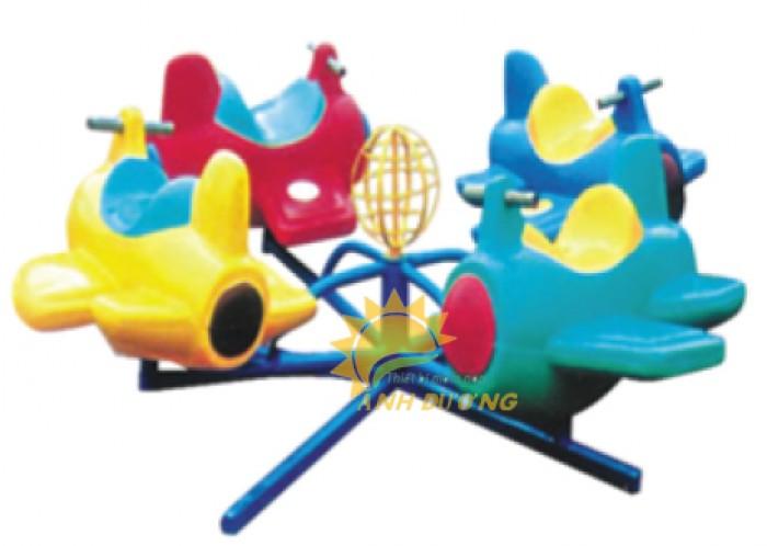 Trò chơi đu quay trẻ em dành cho trường mầm non, công viên, khu vui chơi3