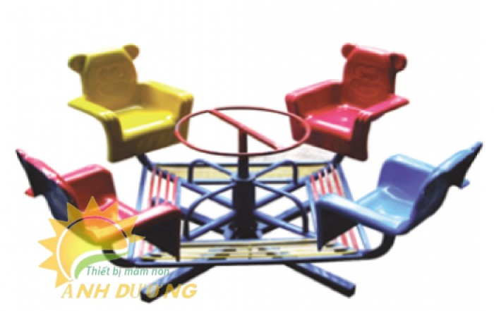 Trò chơi đu quay trẻ em dành cho trường mầm non, công viên, khu vui chơi2