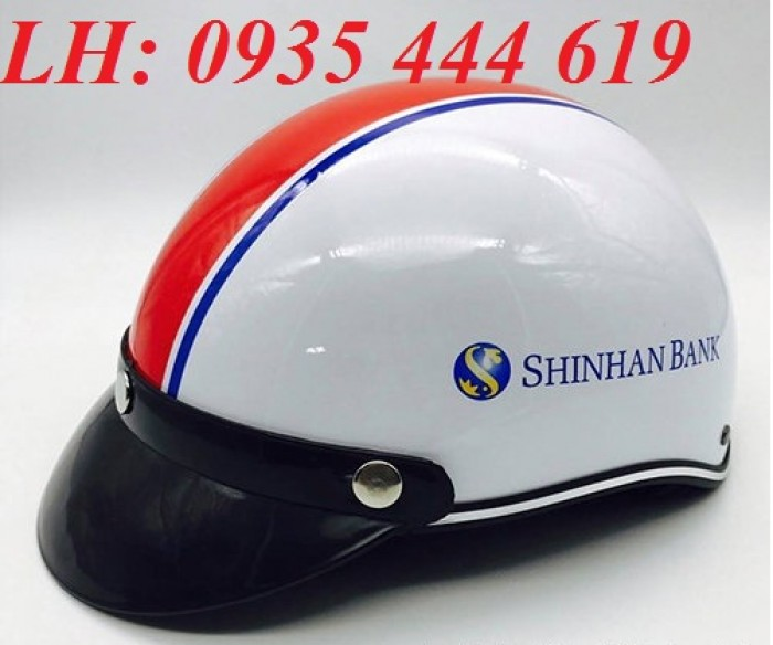 Mũ bảo hiểm in logo theo yêu cầu, mũ bảo hiểm in logo quảng cáo tại Huế4