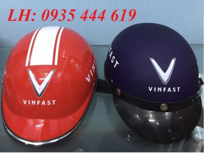 Mũ bảo hiểm in logo theo yêu cầu, mũ bảo hiểm in logo quảng cáo tại Huế0