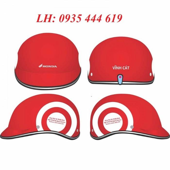 Mũ bảo hiểm in logo theo yêu cầu, mũ bảo hiểm in logo quảng cáo tại Huế7