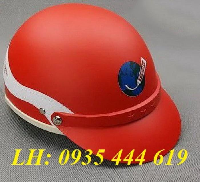 Mũ bảo hiểm in logo theo yêu cầu, mũ bảo hiểm in logo quảng cáo tại Huế5
