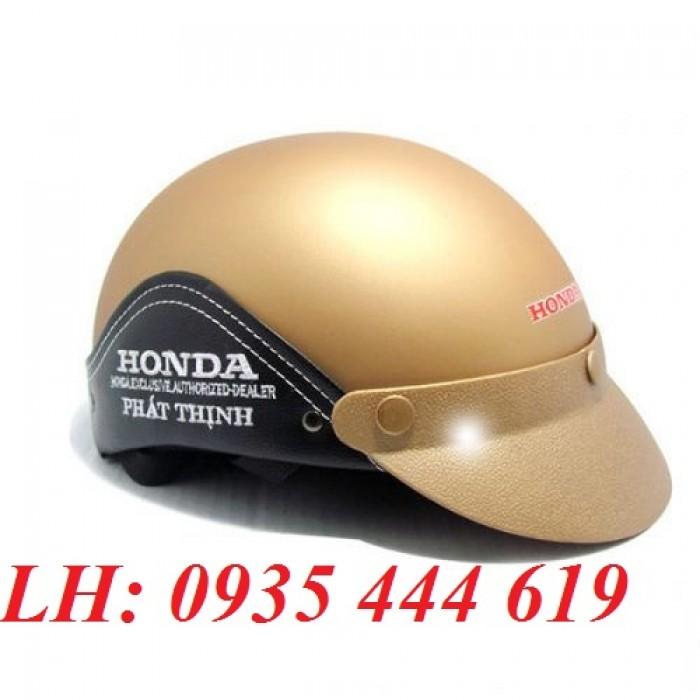 Mũ bảo hiểm in logo theo yêu cầu, mũ bảo hiểm in logo quảng cáo tại Huế8