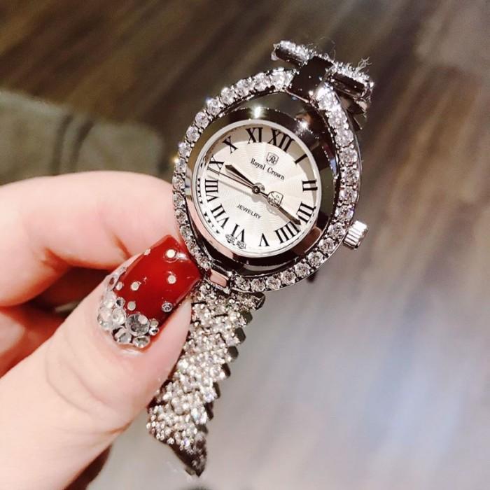 Đồng hồ nữ Royal Crown 4110 sliver0