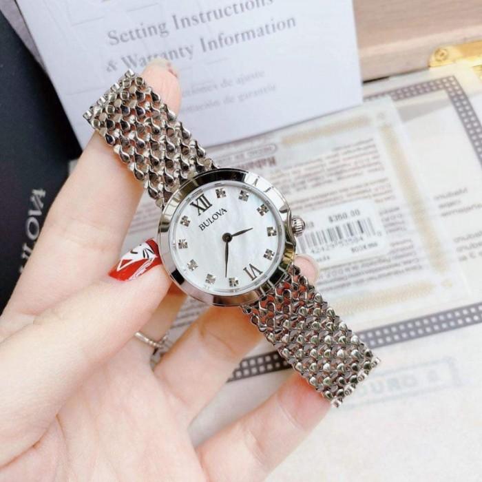 Đồng hồ nữ Bulova 96P163 vảy cá