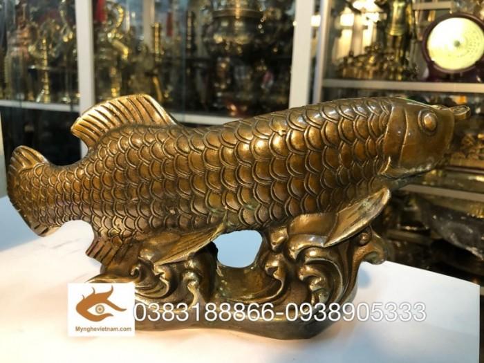 Ý nghĩa của tượng cá chép rồng nâu trong đời sống1