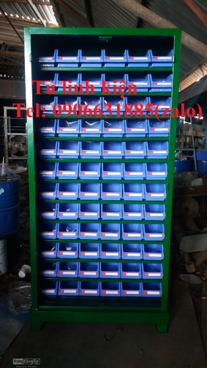Tủ đồ nghề cơ khí, tủ đựng linh kiện, tủ gia công theo yêu cầu3