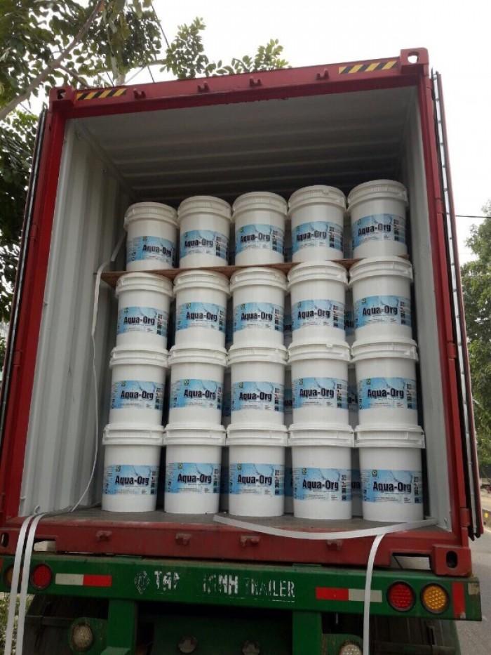 Chlorine aqua organic 70% nguyên liệu xử lý nước0