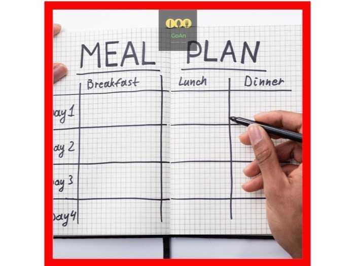 Phần ăn dinh dưỡng 4 tuần #GoAn1