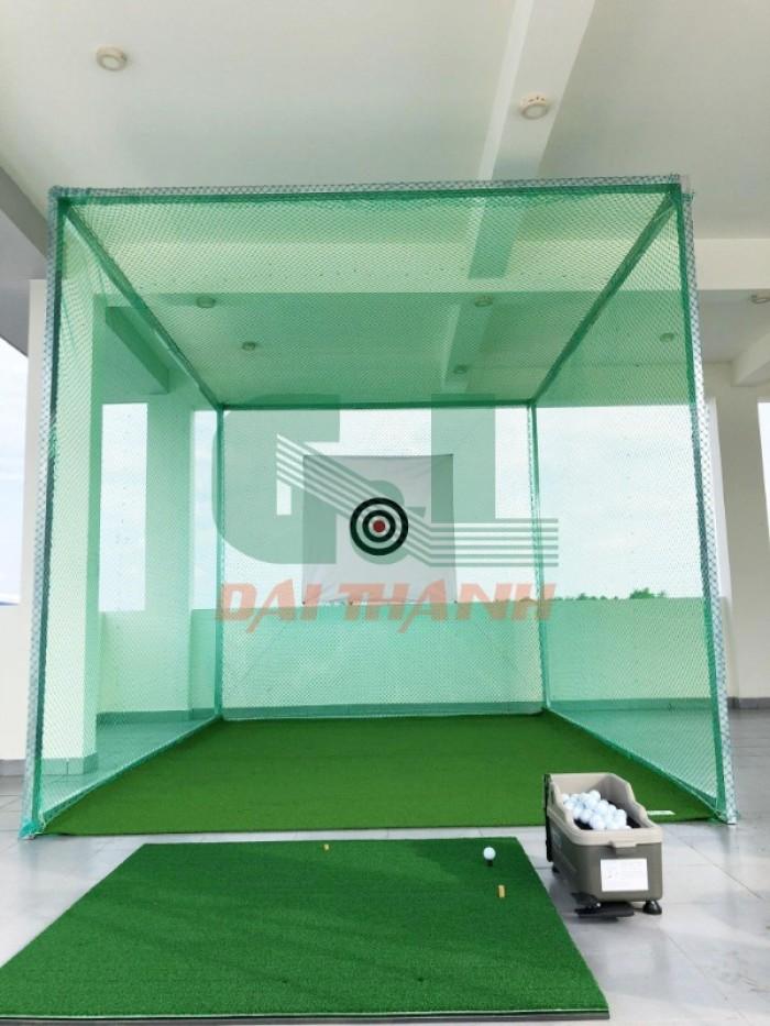 Khung tập phát bóng golf 3x3x3m0