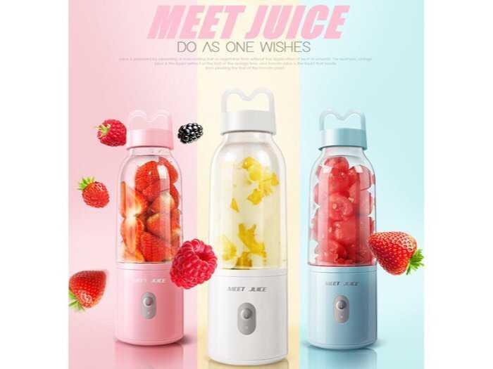 Máy xay sinh tố cầm tay Meet Juice0