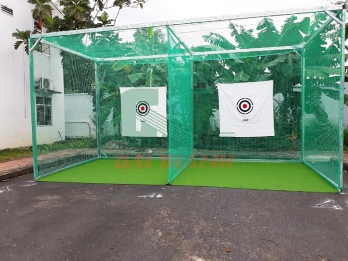 Khung tập phát bóng golf 3x3x3m1