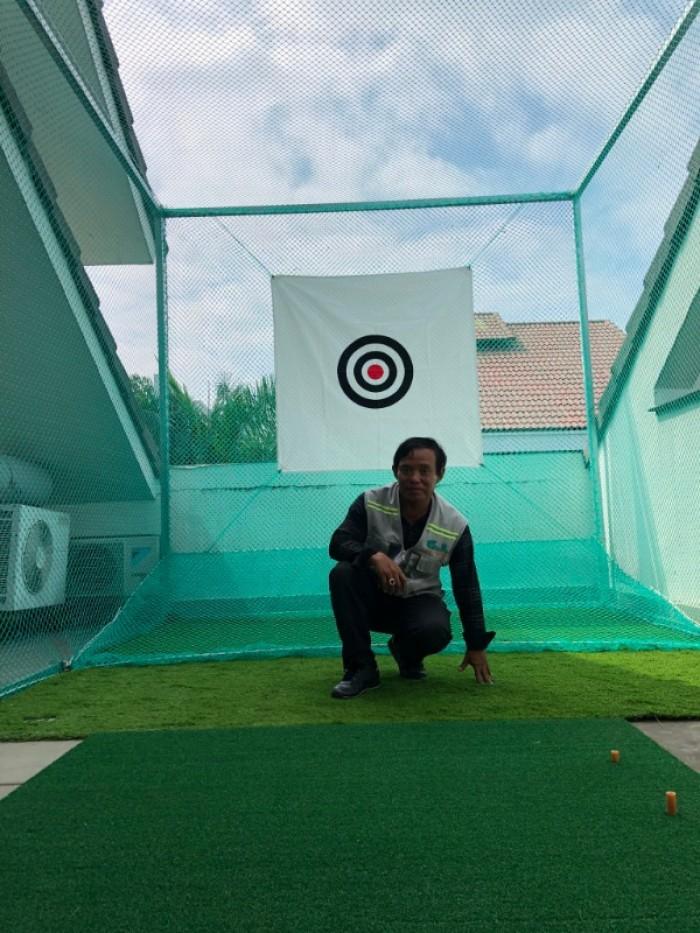 Khung tập phát bóng golf 3x3x3m2