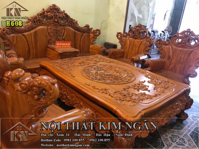 Bộ bàn ghế Hoàng Gia0