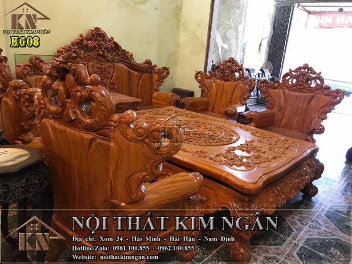 Bộ bàn ghế Hoàng Gia2
