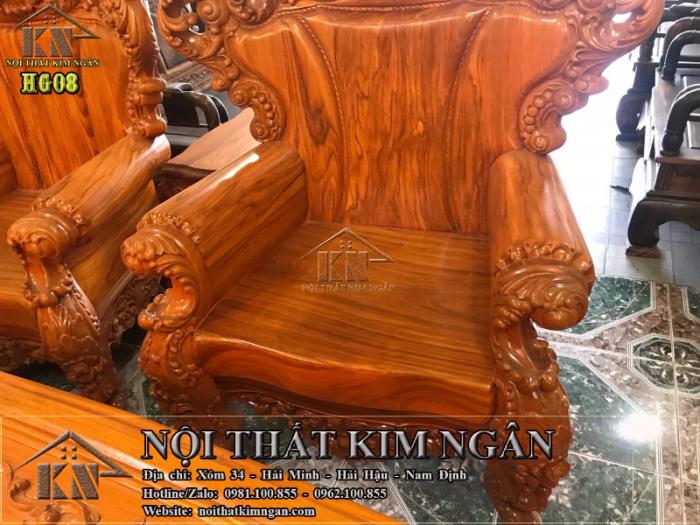 Bộ bàn ghế Hoàng Gia5