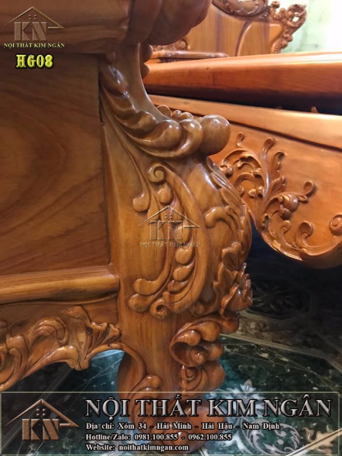 Bộ bàn ghế Hoàng Gia6