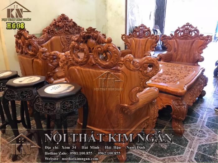 Bộ bàn ghế Hoàng Gia8
