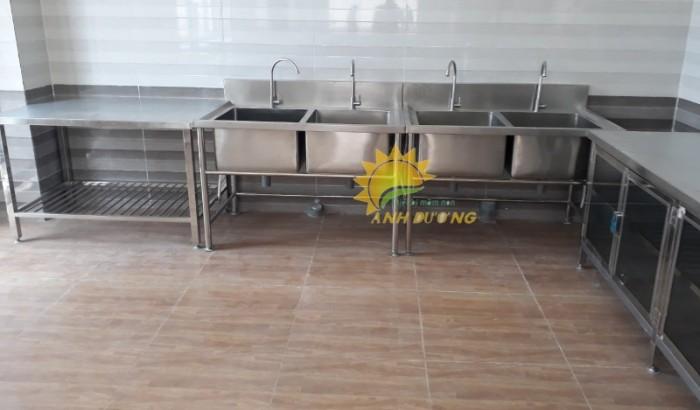 Chuyên cung cấp thiết bị nhà bếp ăn cho trường mầm non, nhà hàng, khách sạn7