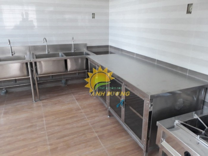 Chuyên cung cấp thiết bị nhà bếp ăn cho trường mầm non, nhà hàng, khách sạn19