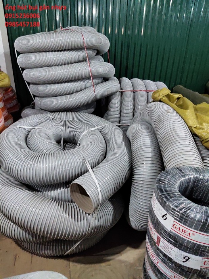 Ống Hút Bụi Gân Nhựa D34, D40, D50, D60, D70, D80, D90, D100, D150, D200 giá tốt nhất Hà Nội3