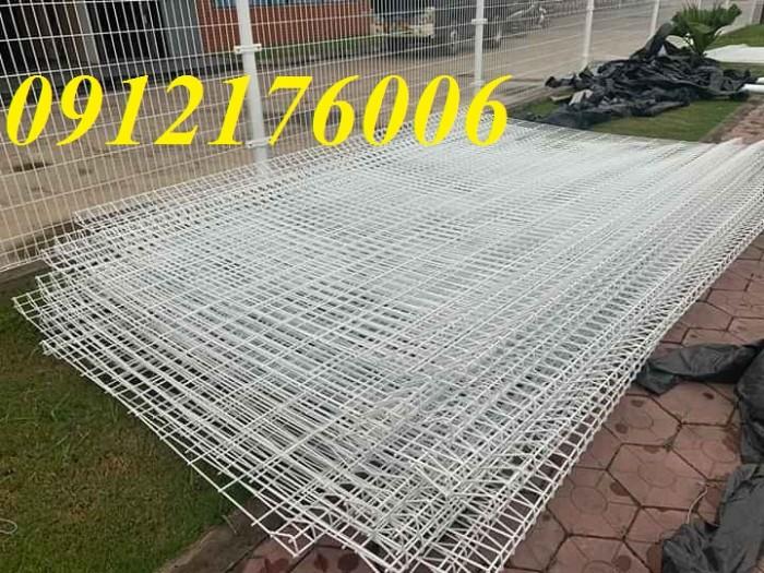 Hàng rào chấn sóng phi 4.5.6 mạ kẽm sơn tĩnh điện23