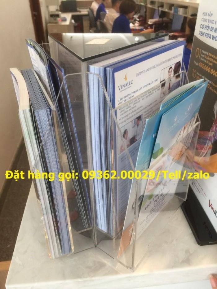 Cung cấp kệ xoay mica để tài liệu giá rẻ tại hà Nội19