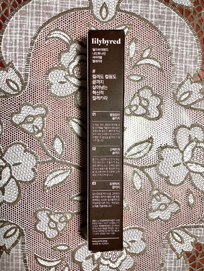 Kẻ mắt Mascara Lilybyred 9AM to 9PM Survival Colorcara1