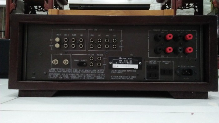 Ampli accuphase e-301 . made in Japan -Hoài Audio3