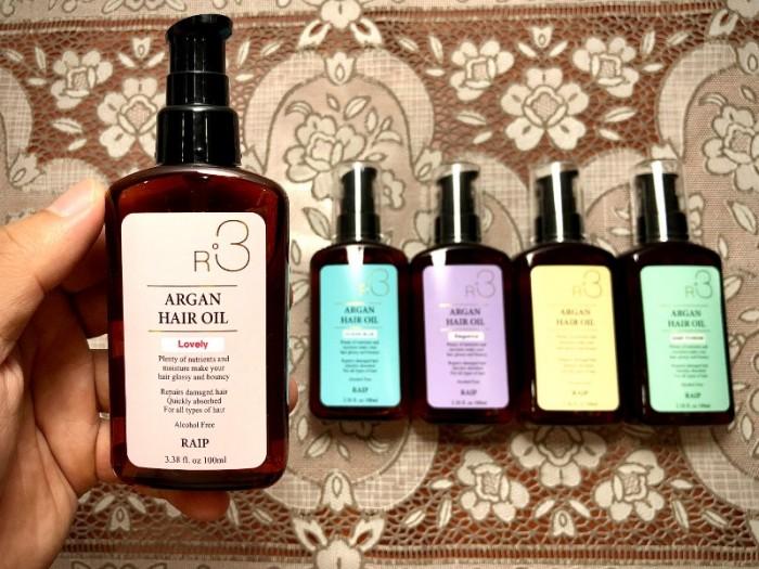 Tinh dầu dưỡng tóc Raip R3 The Argan Oil0