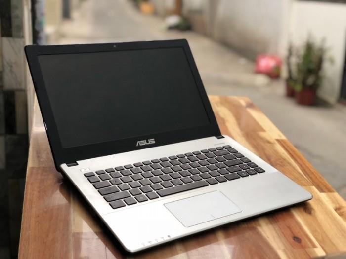 Laptop Asus X450CA, i3 3217U 4G 500G 14inch Đẹp Zin 100% Giá rẻ0