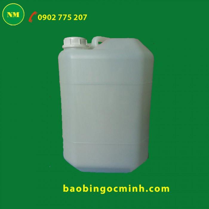 Thùng nhựa 20 lít đựng dung dịch cồn 6