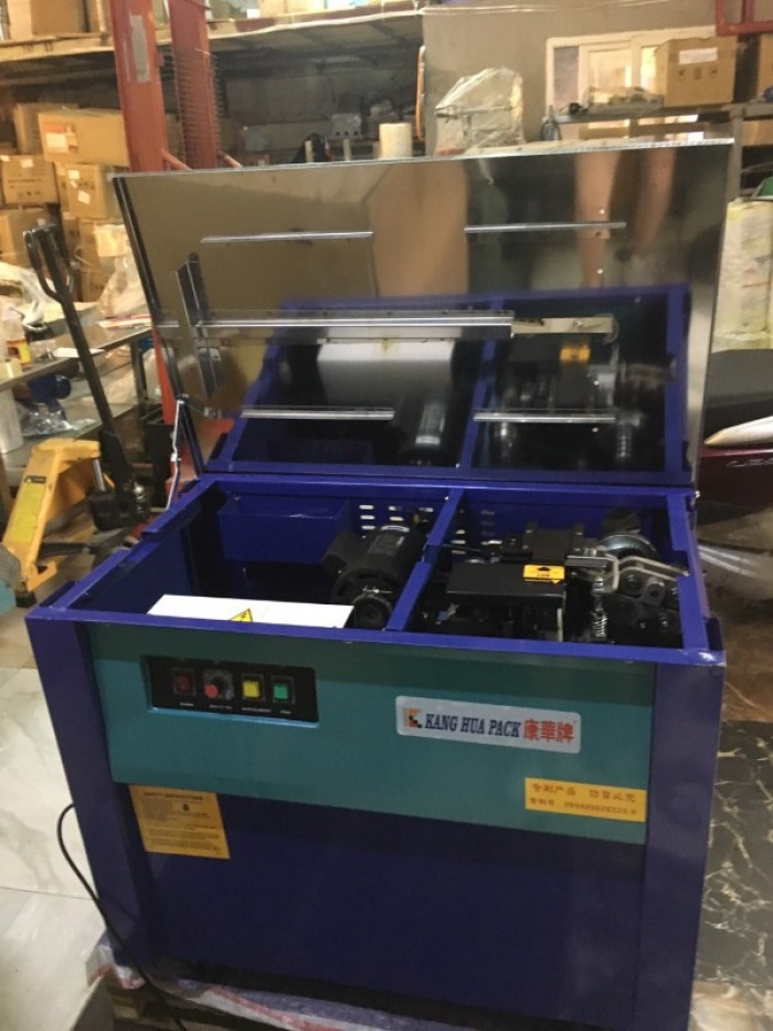 Máy đóng đai thùng, máy đóng đai thùng carton tự động, máy siết đai thùng carton2