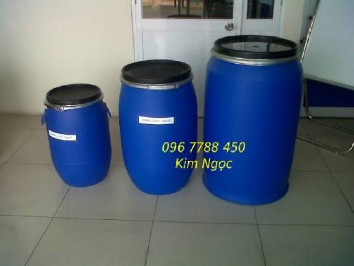 Phuy nhựa 220 lít chứa nước sinh hoạt giá rẻ3