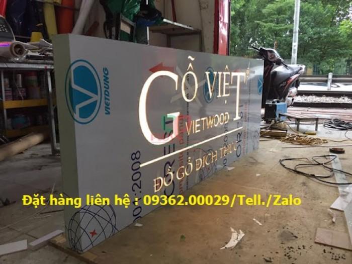 Các sản phẩm biển quảng cáo lắp đặt tại Hà Nội1
