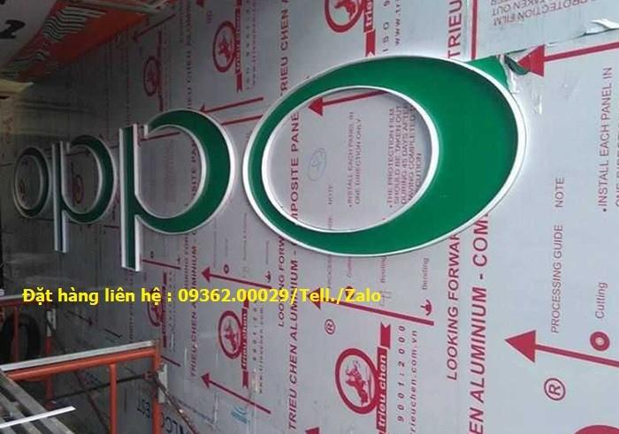 Các sản phẩm biển quảng cáo lắp đặt tại Hà Nội2