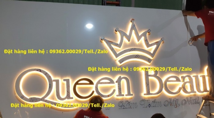 Các sản phẩm biển quảng cáo lắp đặt tại Hà Nội6