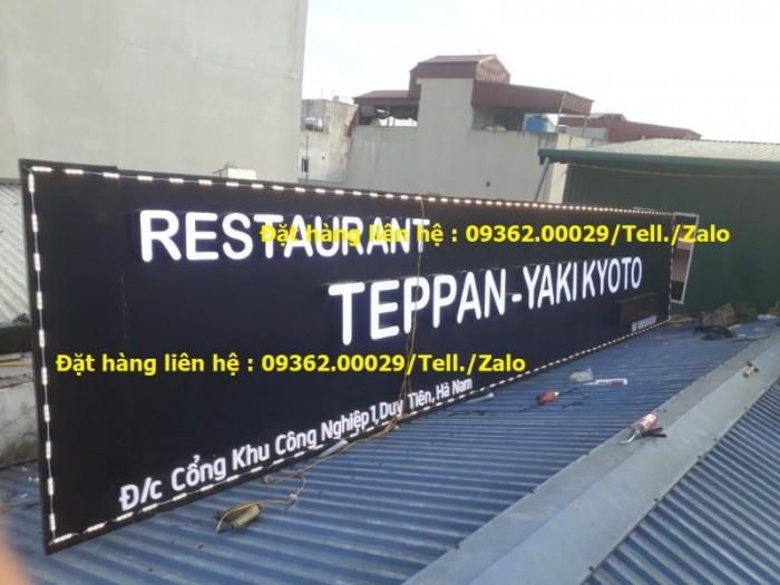 Các sản phẩm biển quảng cáo lắp đặt tại Hà Nội10