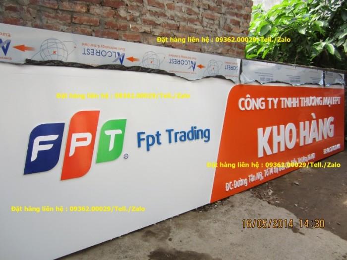 Các sản phẩm biển quảng cáo lắp đặt tại Hà Nội9