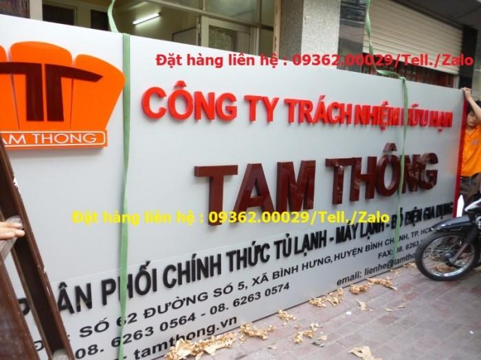 Các sản phẩm biển quảng cáo lắp đặt tại Hà Nội13