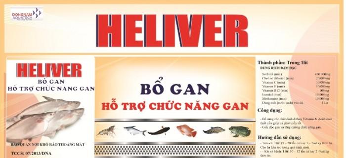 heliver - bổ gan xổ ký sinh trùng0