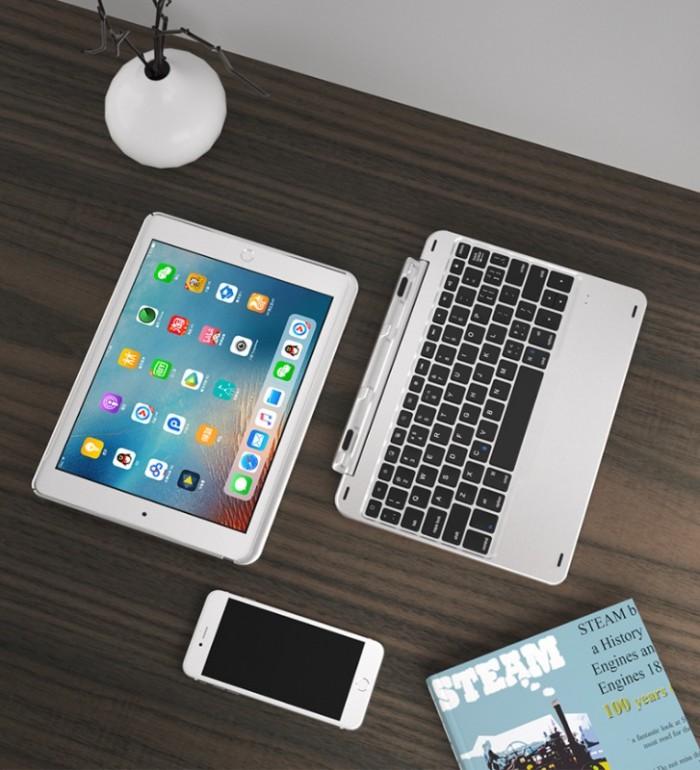 Bàn phím Bluetooth kiêm ốp cao cấp cho ipad 9.7 ipad new mẫu đẹp sang trọng6