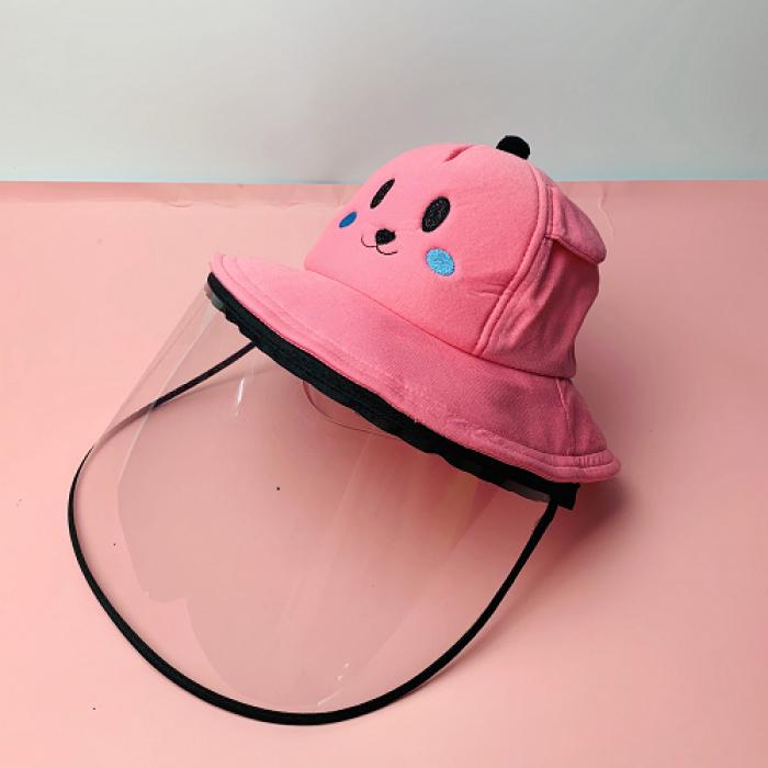 Nón kháng khuẩn- nón bảo hộ - nón chống dịch có màng che kín mặt style Hàn Quốc -0908 555 65610