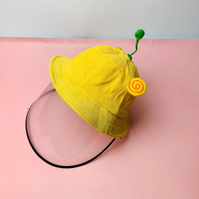 Nón kháng khuẩn- nón bảo hộ - nón chống dịch có màng che kín mặt style Hàn Quốc -0908 555 6566