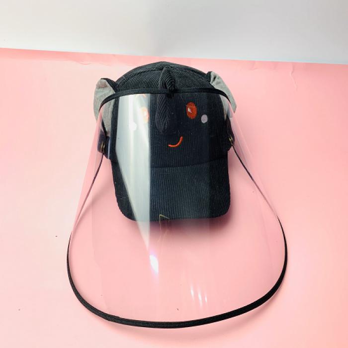Nón kháng khuẩn- nón bảo hộ - nón chống dịch có màng che kín mặt style Hàn Quốc -0908 555 6563