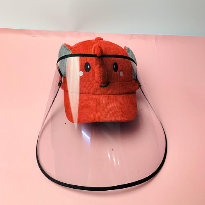 Nón kháng khuẩn- nón bảo hộ - nón chống dịch có màng che kín mặt style Hàn Quốc -0908 555 65615
